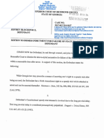 Derelict Lawyer Finally Files VA Whistleblower Jeffrey Blochowicz Speedy Trial Motion to Dismiss.