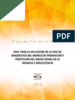 Guía para la Fase de Diagnóstico en la Prevención del ASI Sembrador