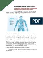 Estrategias sup sistema inmune