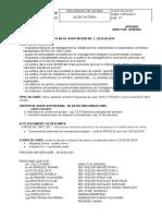 Plan de audit 2015