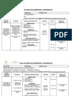 PLAN DE SESION SOLDADURA 2019 09- 13 Septiembre