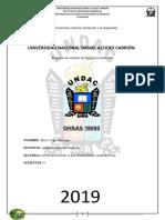 OHSAS 18000 DEFI