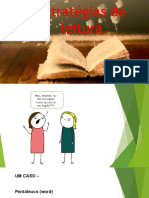 Aula I - Estratégias para leitura