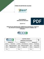 CO3-PRO-17042-19 Armadura de refuerzo rev. 00