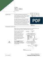 Data sheet módulo HTRI