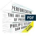 [2015] Superforecasting by Philip Tetlock | The Art and Science of Prediction | Audible Studios