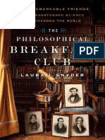 The Philosophical Breakfast Club by Laura J. Snyder - Excerpt