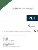 DERECHO CONCURSAL - NOCIONES GENERAL E IMPORTANTES