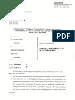 Affidavit Ron Ball 2 Chad Daybell
