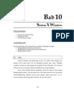 10. Sistem X Window