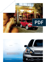 2007 Cr v Brochure