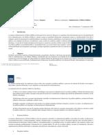 Programa - Administración y Políticas Públicas - 1er Cuatrimestre 2020