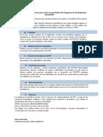Estructura para armar el portafolio del PPE