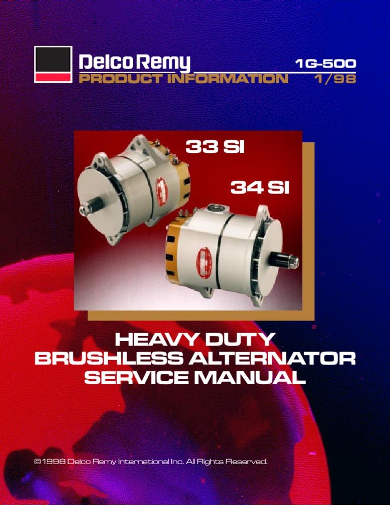 3334si voltage electric current rh scribd com Heavy Duty Belt Power Max Heavy Duty Alternator