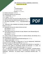 ANEXO IV - Informações Técnicas do Veículo  ford 2842