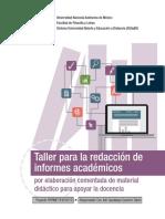 1 Taller para la redacción de informes académicos