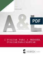 2.Tema2 Evaluar para Aprender Evaluar para Calificar.pdf