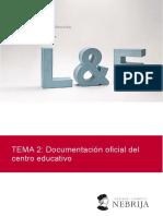 Tema 2 Documentación oficial del centro educativo.pdf