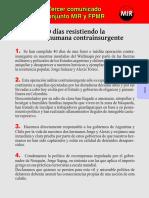 FPMR-MIR Tercer comunicado conjunto, abril 2012