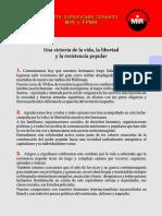 FPMR-MIR cuarto comunicado conjunto, junio 2012