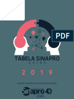Tabela Sinapro 2019 - Oficial
