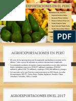 AGROEXPORTACIONES  DIAPOSITIVAS