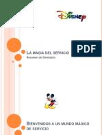 LA MAGIA DEL SERVICIO DISNEY