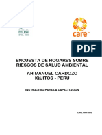ENCUESTA DE HOGARES - IQUITOS PERÚ