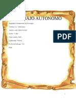 Trabajo Autonomo Fundamento de Psicologia Finalizado.
