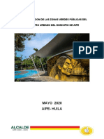 CARACTERIZACION DE LAS ZONAS VERDES PÚBLICAS DEL PERIMETRO URBANO DEL MUNICIPIO DE AIPE