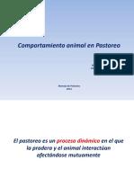 3.- Comportamiento animal en pastoreo