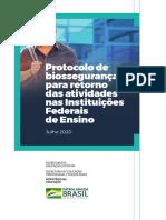protocolo de bioseguranca mec