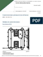 sistema de control de velocidad de la transmision D8T