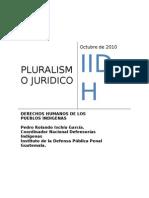 Pluralismo Cultural y Juridico. Iidh- Costa Rica