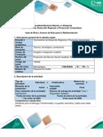 Guia de Ruta para la realimentación fase 1 Diagnóstico Solidario
