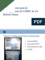 Procedimiento para la configuración de los robots  ETHERNET Fanuc(verificado)