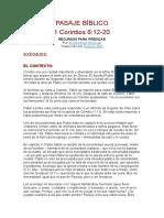PASAJE BÍBLICO corintio