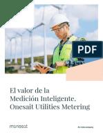 El valor de la Medición Inteligente. Onesait Utilities Metering.pdf
