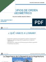 PRINCIPIOS DE ORDEN GEOMÉTRICO