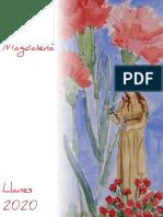 Libro Fiestas Santa María Magdalena en Llanes 2020