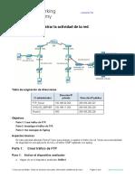 7.1.2.7 Packet Tracer - Logging Network Activity Leonardo Tito