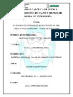 Cuidados de Enfermería Pre, Trans y Postoperatorio - Tipos de Anestesia.pdf