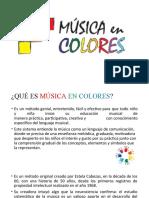 PPT MUSICA EN COLORES