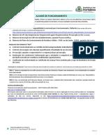 CHECKLIST - ALVARÁ DE FUNCIONAMENTO