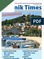 The Sibenik Times, August 9th