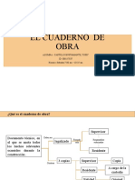 EL CUADERNO  DE OBRA