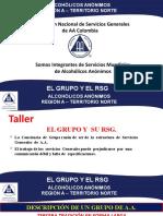 EL GRUPO Y SU RSG