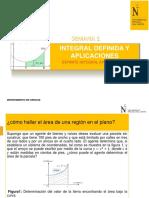 1 SEMANA+DIAP+INTEGRAL DEFINIDA Y CALCULO DE AREAS