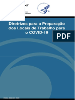 Directrizes para os locais de trabalho para o COVID-19