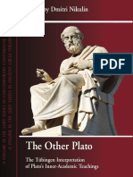 (Suny Series in Contemporary Continental Philosophy) Dmitri Nikulin - The Other Plato_ The Tu bingen Interpretation of Plato's Inner-academic Teachings-State University of New York Press (2012).pdf